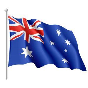 9882172 - flag of australia