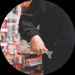circle shoplifting hardware
